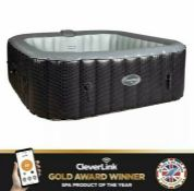 RRP £472.00 CleverSpa Mia 6 person Hot tub (faulty not inflating)