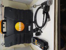 RRP £1766.00 testo 330-2 LL - Flue Gas Analyser (Pro set with Bluetooth)