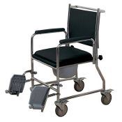 RRP £114.00 NRS Healthcare Wheeled Commode/Over Toilet Chair