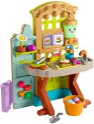 RRP £60.00 Fisher-Price Laugh and Learn Grow-the-Fun Garden to Kitchen