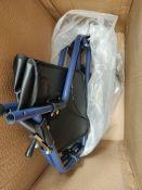 RRP £54.00 Days Tri Wheel Walker with Loop Lockable Brakes, Easy to Manoeuvre & Height Adjustable
