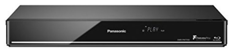RRP £298.00 Panasonic DMR-PWT550EB Blu-Ray Player and HDD Recorder with Freeview Play, Black