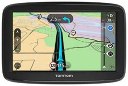 RRP £79.00 TomTom Car Sat Nav Start 52 Lite, 5 Inch with EU Maps, Integrated Reversible Mount [Am