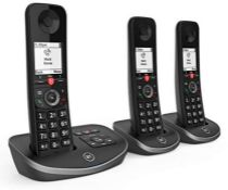 RRP £82.00 BT Advanced Cordless Home Phone with 100 Percent Nuisance Call Blocking and Answering
