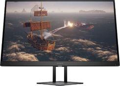 """RRP £435.00 HP OMEN 27i 68.6 cm (27"""") 2560 x 1440 pixels Quad HD Black OMEN 27i, 68.6 cm (27""""), 25"""