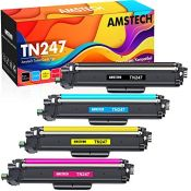 RRP £55.00 Amstech Compatible Toner Cartridge Replacement for Brother TN-243CMYK TN247 DCP-L3550C