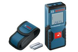 RRP £70.00 Bosch Professional 601072570 Laser Measure GLM 30 (Single-Button Use, Imperial System,