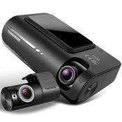 RRP £229.00 Thinkware F770 Dash CamFull HD 1080p Frontand RearCar Camera Dashcam- Super Ni