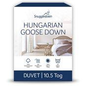 RRP £139.00 Snuggledown Hungarian Goose Down King Size Duvet 10.5 Tog All Year Round Duvet King Si