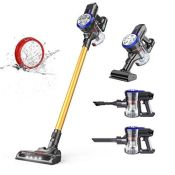 dibea Cordless Vacuum Cleaner 4-in-1,Stick Handheld Lightweight Vacuum with Removable
