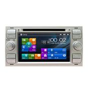 RRP £147.00 SWTNVIN Car Radio Stereo Fits for Ford Focus Fusion Transit Fiesta Galaxy 7 Inch GPS N