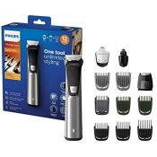 Philips 12-in-1 All-In-One Trimmer, Premium Series 7000 Grooming Kit, Beard Trimmer, H