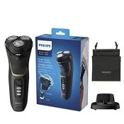 RRP £67.00 Philips Shaver Series 3000 with Powercut Blades, Wet & Dry Men's Electric Shaver with