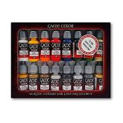Acylicos Vallejo - 72299 - Acrylic 16 Colors for Fantasy Figures