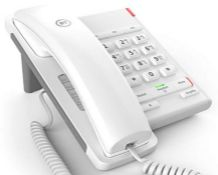 BT Converse 2100 Corded Telephone, White