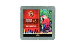 KOH-I-NOOR Progresso Woodless Aquarell Coloured Pencils (Set of 48)