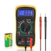 Digital Multimeter Car Battery Circuit Tester Voltmeter DC AC Voltage Current OHM Cont