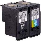 [CRACKED] Canon Original PG-540/CL-541 Ink Cartridge - Multi-Coloured, Pack of 2