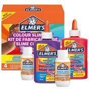 [INCOMPLETE] Elmer's Colour Slime Kit | Slime Supplies Include Washable Colour PVA Glu