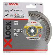 Bosch Professional 2608615165 Diamond Cutting Disc Standard (Universal, X-LOCK, Diamet