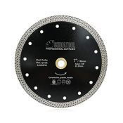 SHDIATOOL Diamond Cutting Disc 7 Inches / 180mm Saw Blade with Mesh Turbo for Porcelai