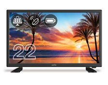 RRP £203.00 Cello C22277T2S1 223 inch Battery Operated & Solar LED TV with Freeview T2 HD & Sate