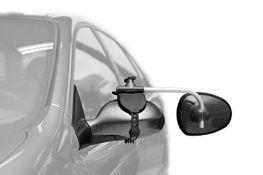 RRP £87.00 [CRACKED] Repusel 3000 Universal Caravan Towing Mirrors, Set of 2