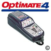 RRP £56.00 OptiMate 4 Dual Program 12V Motorcycle Automatic Battery Charger Optimiser