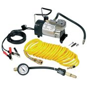 RRP £79.00 Ring RAC900 Heavy Duty Tyre Inflator, Air Compressor with 7m extendable airline, brass