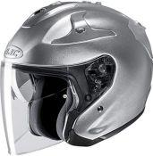 RRP £176.00 HJC FG-JET Motorcycle Helmet, Grey, Size S