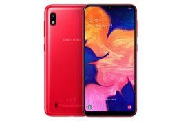 RRP £109.00 Samsung Galaxy A10 - Smartphone 32GB, 2GB RAM, Dual Sim, Red