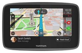 RRP £129.00 TomTom Car Sat Nav GO 620, 6 Inch with Handsfree Calling, Siri, Google Now, Updates vi