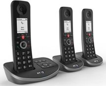 RRP £80.00 BT Advanced Cordless Home Phone, Nuisance Call Blocking and Answering Machine, Trio Ha