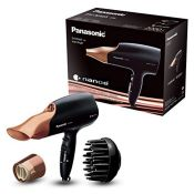 RRP £59.00 [CRACKED] Panasonic EH-NA65CN Nanoe Hair Dryer with Diffuser for Visibly Improved Shin