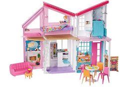 RRP £62.00 Barbie FXG57 Malibu House Playset