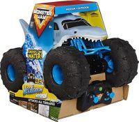 RRP £59.00 Monster Jam Official Megalodon STORM All-Terrain Remote Control Monster Truck, 1:15 Sc