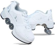 RRP £68.00 Ironhead Multifunctional Deformed Shoes Children Students Adult Roller Skating Roller