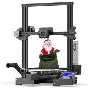 RRP £186.00 Creality Ender 3 Max 3D Printer with Silent Motherboard, Meanwell Power Supply, Temper