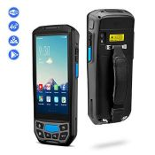RRP £390.00 [Warehouse Scanner] Rugged Handheld Barcode Scanner Mobile Computer IP65 with Android