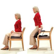 RRP £106.00 UpLift UPE 1 Upeasy Seat Assist, 35-105kg Max User Weight, Non-Electric Lifting Cushio