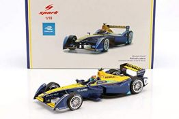 RRP £106.00 Spark Collectible Miniature Car, 18FE02, Blue/Yellow