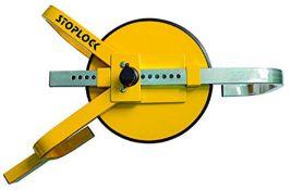 Stoplock Wheel Clamp HG 400-00 - Anti-Theft Lock Device for Small-Wheeled Cars Caravan