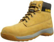 RRP £56.00 DeWalt Apprentice , Men's Safety Boots , Honey Nubuck , 9 UK (43 EU)