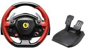 RRP £80.00 [INCOMPLETE] Thrustmaster Ferrari 458 Spider Racing Wheel - Wheel