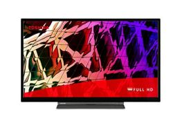 RRP £238.00 [CRACKED] Toshiba 32LL3C63DB 32-inch, Full HD, Freeview Play, Smart TV (2021 Model)