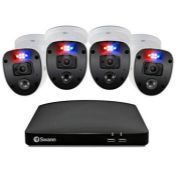 RRP £249.00 Swann Security CCTV Kit, 8 Channel 1080p Full HD 1TB HDD DVR-4680 with 4 x PRO-1080SL