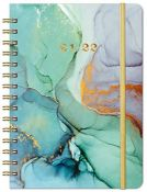 """2021-2022 Diary - Weekly & Monthly Diary with Monthly Tabs, 6.3"""" x 8.4"""", Jul 2021 - Ju"""