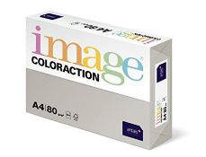 Coloraction Pale Grey (Iceland) A4 Colour Paper 80 GSM (Pack of 500 Sheets)