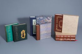 An interesting collection of illustrated world literature, France, 20th C.