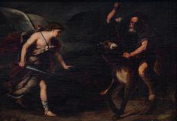 Italian school, circle of Luca Giordano (1634-1705): Balaam and the Ass, 17th C.